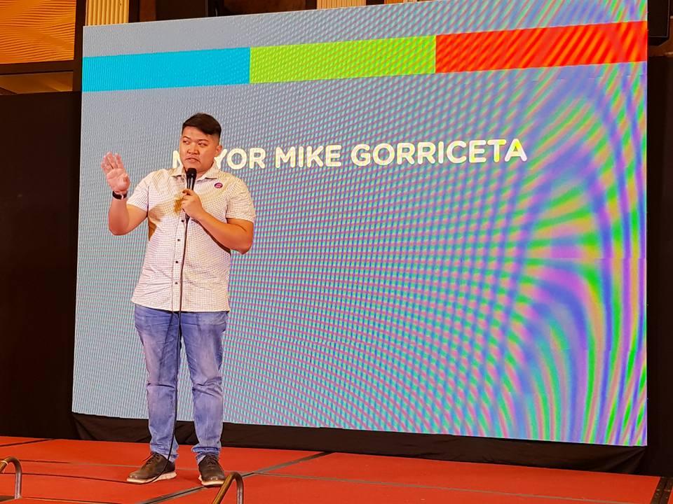 mayor mike gorriceta