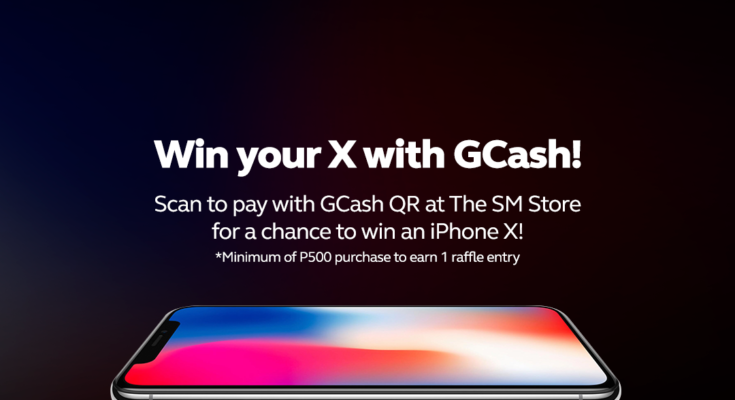 GCash iPhone X raffle