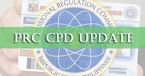 prc cpd update