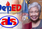 Deped Sec Leonor Briones on ALS Test