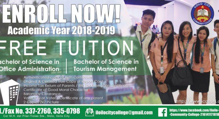 Iloilo City Community College enrollment