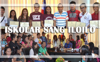 Iskolar sang Iloilo scholarship program