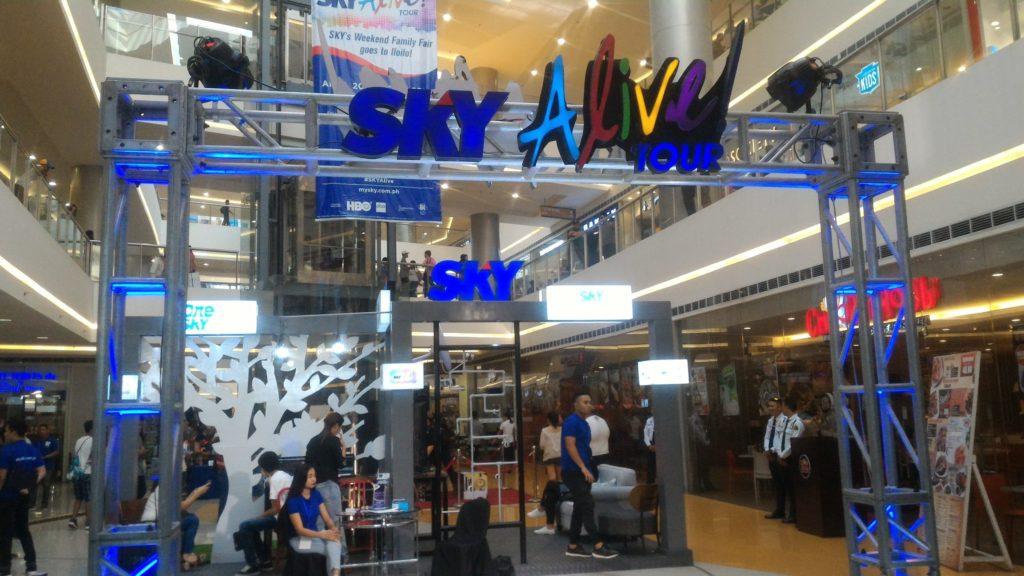 sky alive tour Iloilo