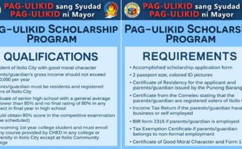 pag-ulikid scholarship